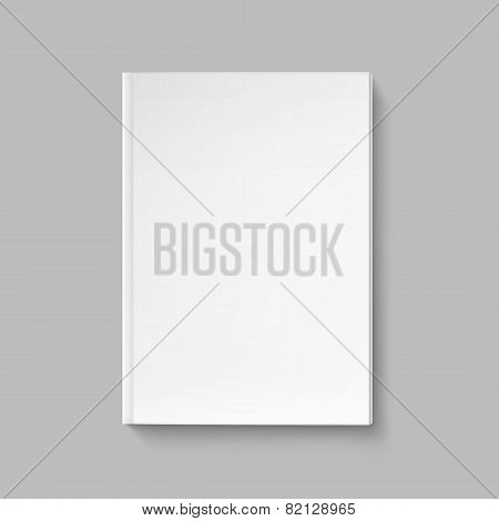 Vector Blank Cover for Book or Magazine Template
