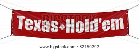 Holdem Banner (clipping path included)