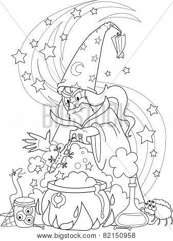 Coloring wizard
