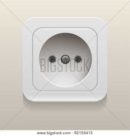Vector socket   eps10