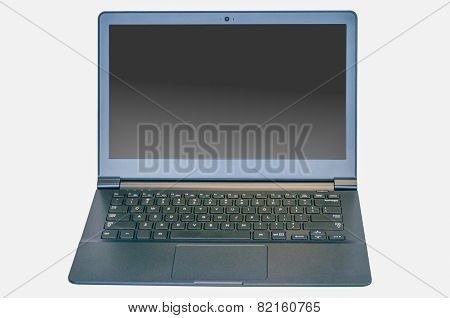 Isolated Ultrabook Laptop