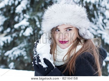 Preparing For A Snowball Fight