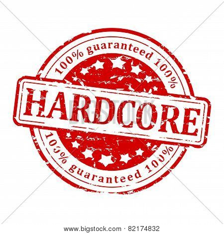 Red Stamp - Hard Core