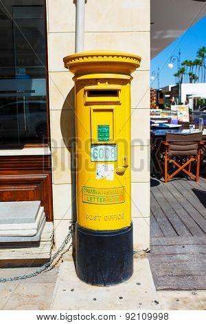 Cyprus Postal Mail Box