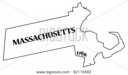 Massachusetts State And Date