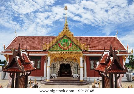 Thai Vintage Building Style