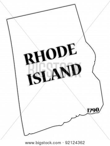 Rhode Island State And Date