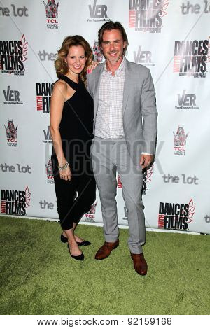 LOS ANGELES - MAY 31:  Missy Yager, Sam Trammell at the