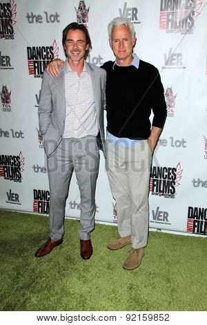 LOS ANGELES - MAY 31:  Sam Trammell, John Slattery at the