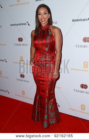 LOS ANGELES - MAY 31:  Gloria Govan at the 2015 Sports Spectacular Gala at the Century Plaza Hotel on May 31, 2015 in Century City, CA