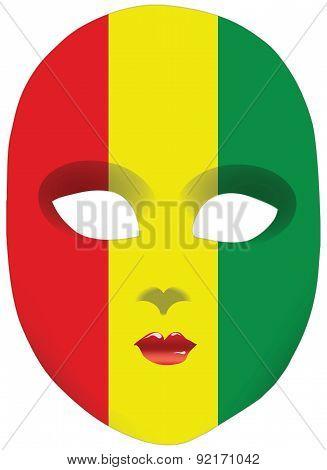 Guinea Mask