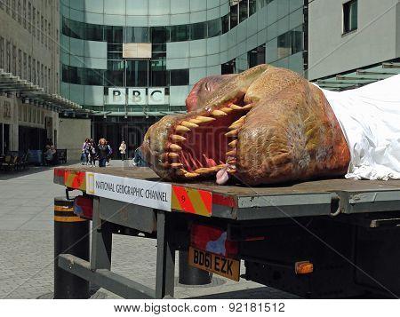 Dead Dinosaur at the BBC