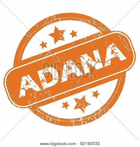 Adana round stamp