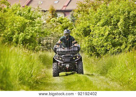 All Terrain Vehicle Rider