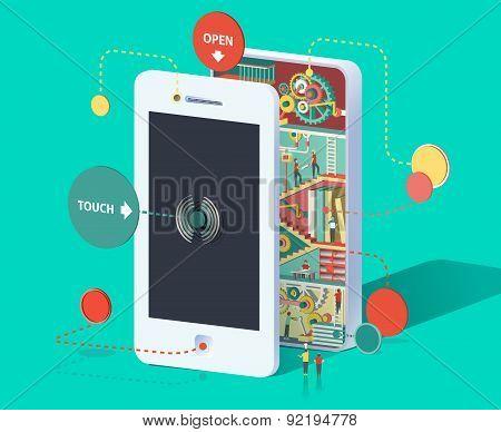 Huge smartphone