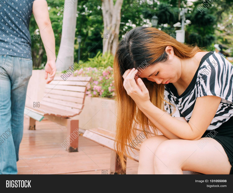 Breakup Couple Sad Image & Photo (Free Trial)   Bigstock