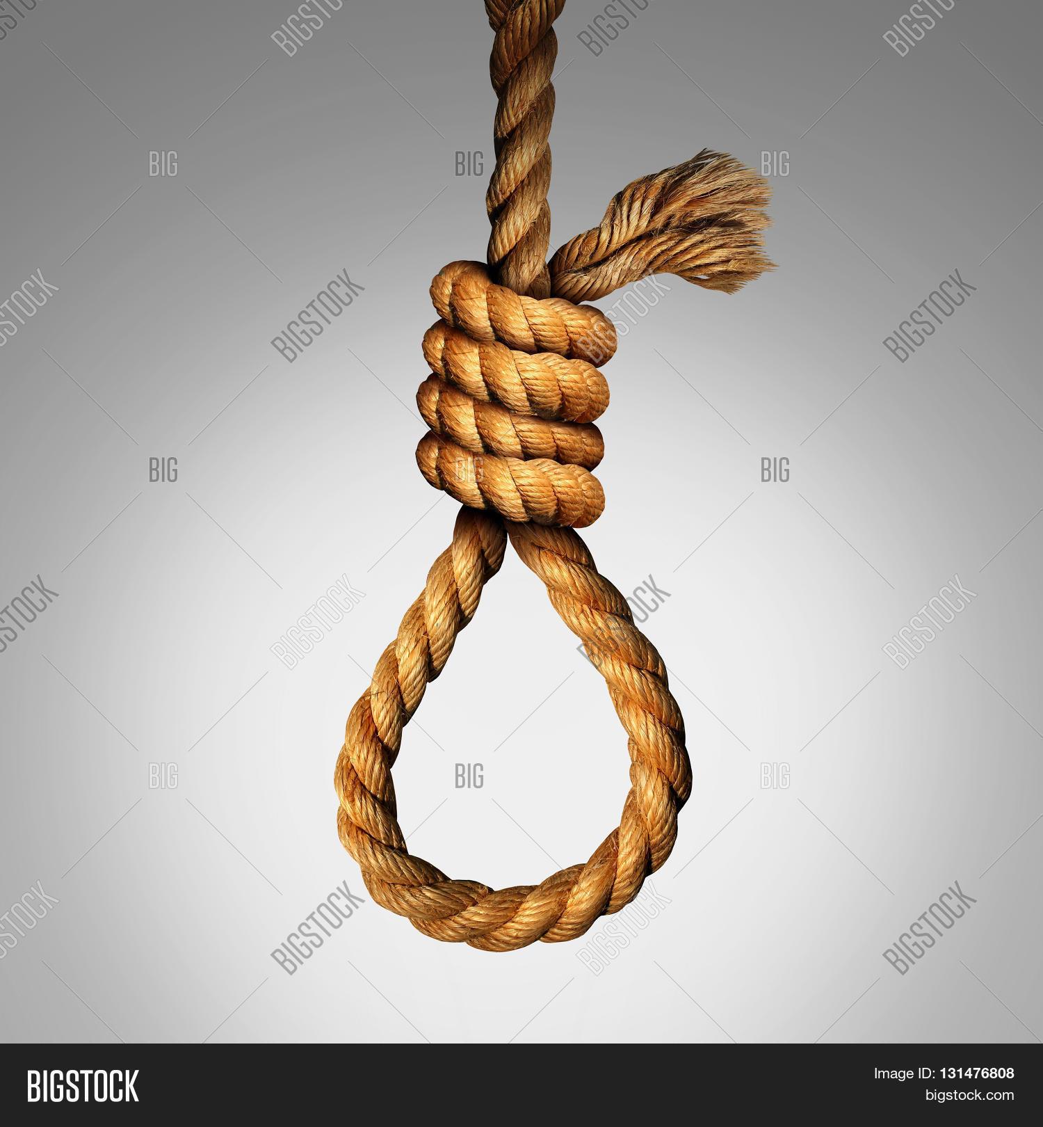 Suicide Noose Concept Image Photo Free Trial Bigstock