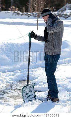 Shoveling Snow Backache