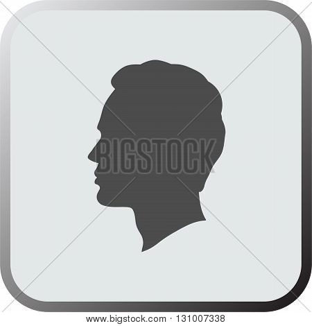 Man head icon. Man head icon art. Man head icon eps. Man head icon Image. Man head icon logo. Man head icon sign. Man head icon flat. Man head icon design. Man head icon vector.