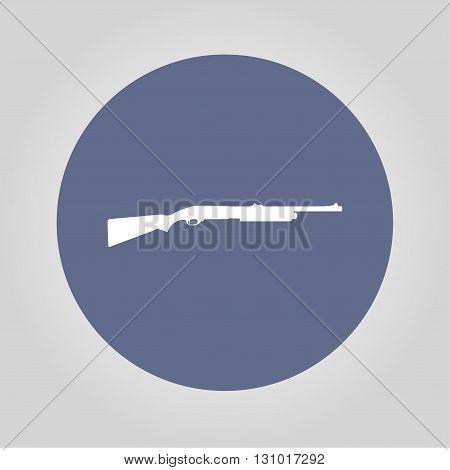 Shotgun icon. Vector concept illustration for design.