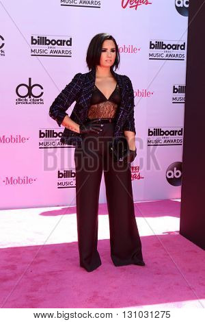 LAS VEGAS - MAY 22:  Demi Lovato at the Billboard Music Awards 2016 at the T-Mobile Arena on May 22, 2016 in Las Vegas, NV