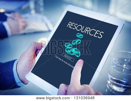 Resources Raw Material Environmental Context Concept