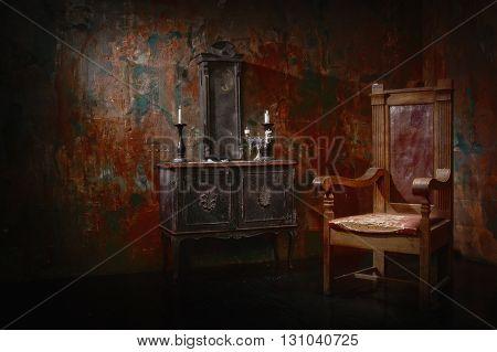 Mystical Dark Interior