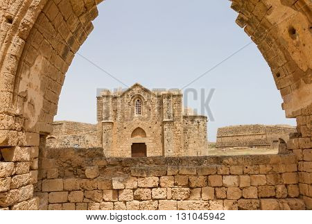 View Of Armenian Church Via Carmelite Church Arch In Famagusta