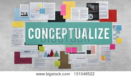 Conceptualize Creative Ideas Image Intention Concept