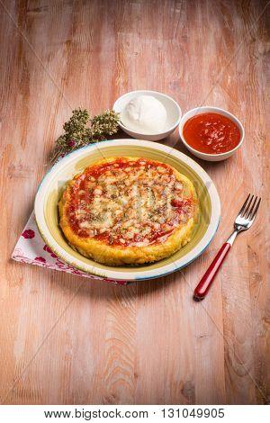 pizza porridge