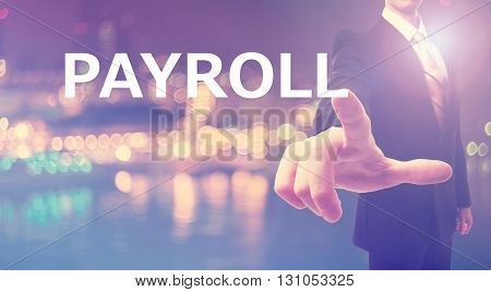 Payroll Concept With Businessman