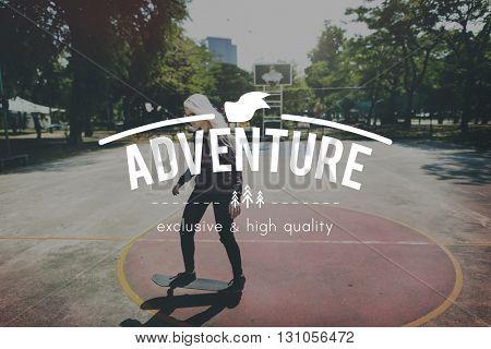 Adventure Fun Recreation Journey Concept