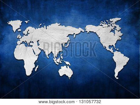 Creative world map