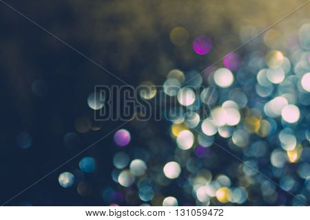 Beautiful abstract bokeh lights for background, Blurred Light