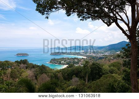 Kata And Karon Viewpoint In Phuket Island