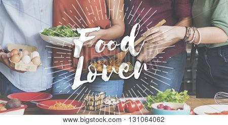 Food Mania Foodie Food Lover Gourmet Cuisine Tasty Delicious Concept