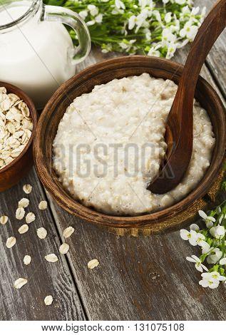 Porridge With Milk