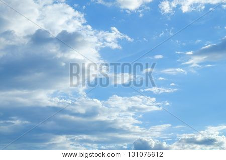 Beautiful Cloud Flowing In The Blue Sky, Image Open Sky Weather Meteorology Background
