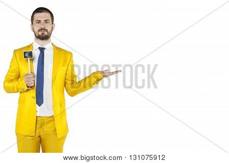 Copy Space Above The Hand Of Businessman