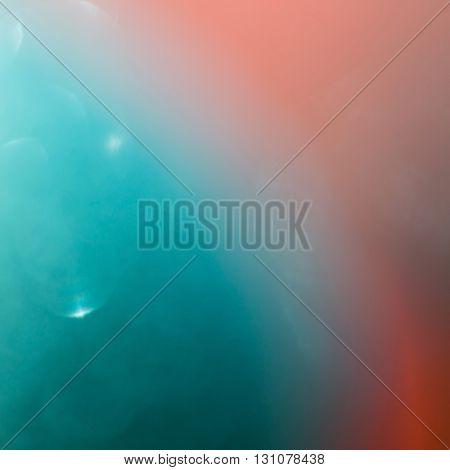 Green Bokeh Light Celebration Background