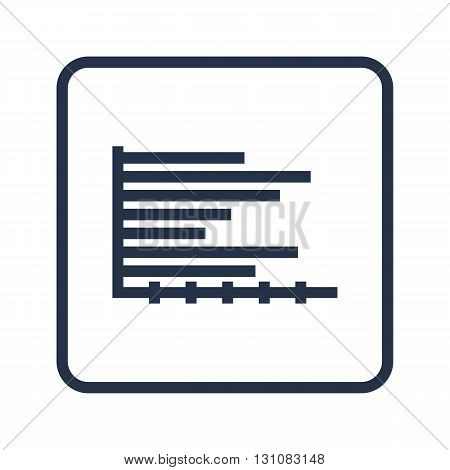 Horizontal Icon In Vector Format. Premium Quality Horizontal Symbol. Web Graphic Horizontal Sign On