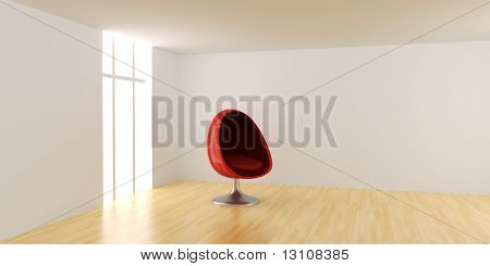 Eggchair In A Room