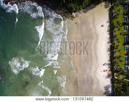 Top View of a Beach, Brazil