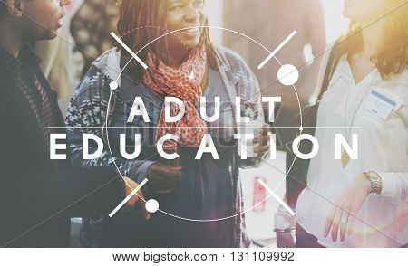 Adult Education Learning Study School Concept