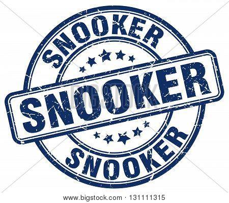 Snooker Blue Grunge Round Vintage Rubber Stamp.snooker Stamp.snooker Round Stamp.snooker Grunge Stam