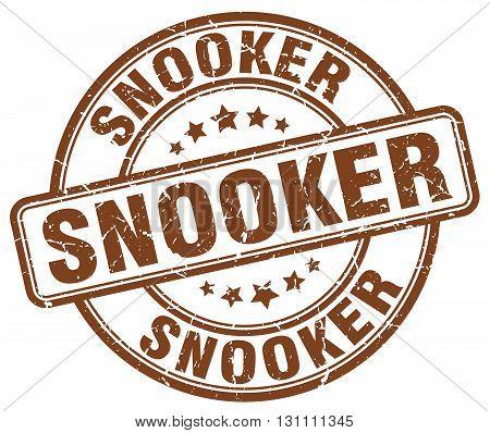 Snooker Brown Grunge Round Vintage Rubber Stamp.snooker Stamp.snooker Round Stamp.snooker Grunge Sta