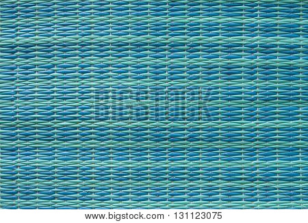 Light blue plastic mats pattern background, Thailand.