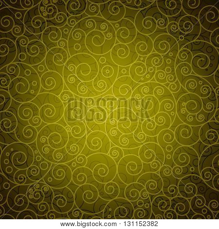 Decorative Floral Backdrop. Ready for Your Text and Design.