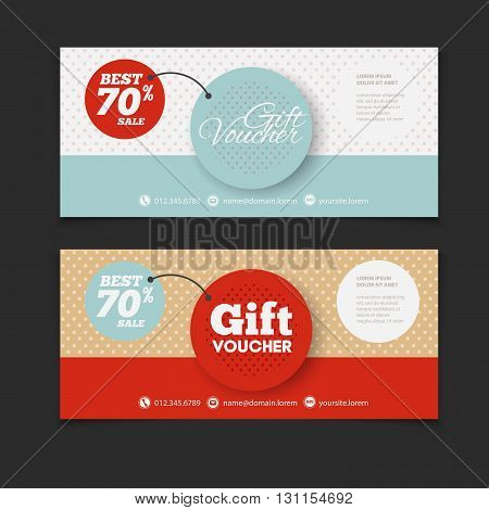 Voucher Design Blank Print Design Coupon. Gift Voucher Vector. Coupon  Template. Flyer Design. Flyer Template. Voucher Abstract Design. Voucher  Background  Coupon Flyer Template