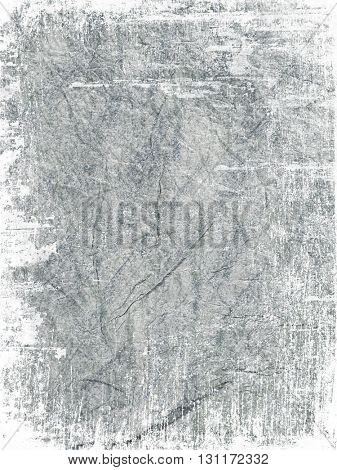White grunge effect added to gray textured paper